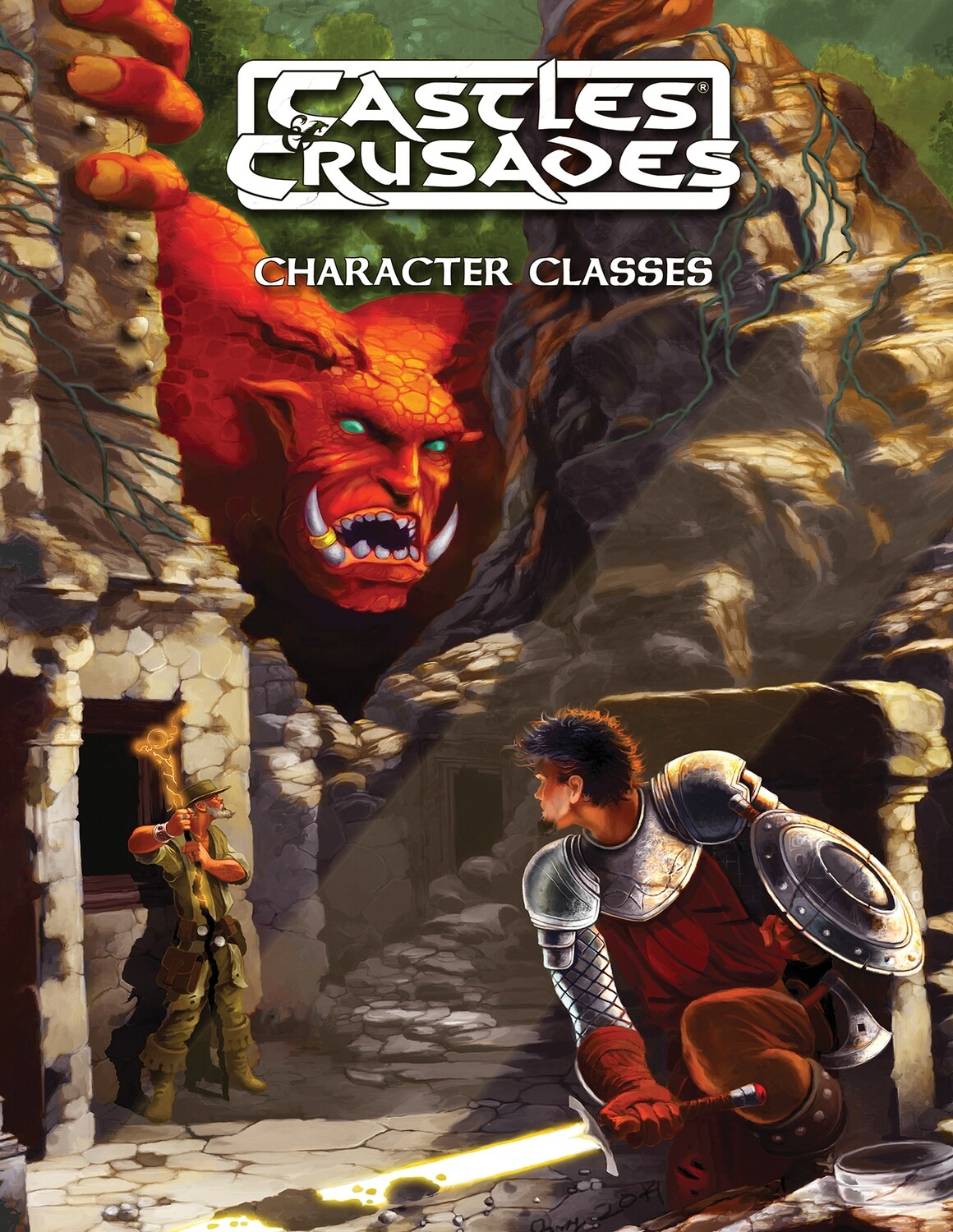 Castles & Crusades Character Classes -- Digital