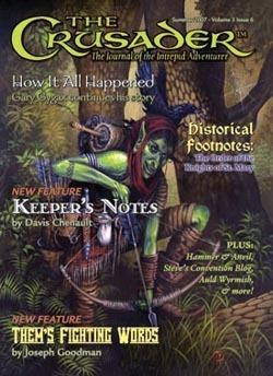 Crusader Journal #6 D