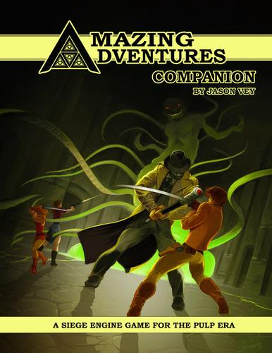 Amazing Adventures Companion -- Print & Digital