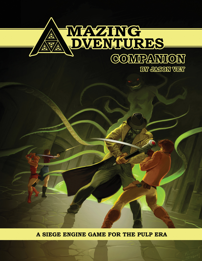 Amazing Adventures Companion D