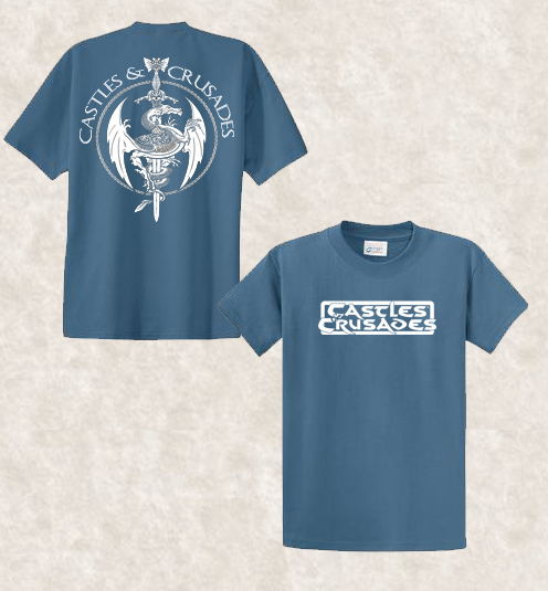 Castles & Crusades Official Tee Shirt