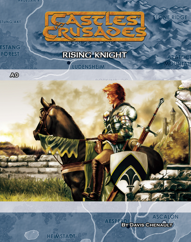 Castles & Crusades A0 Rising Knight Digital