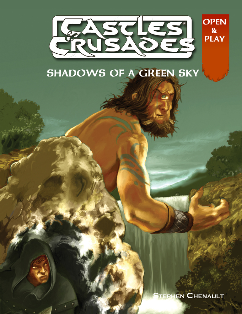 Castles & Crusades Shadows of a Green Sky Print & Digital
