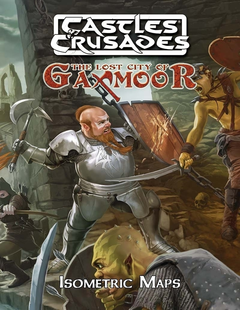 Castles & Crusades Gaxmoor, The Lost City, Isometric Maps D