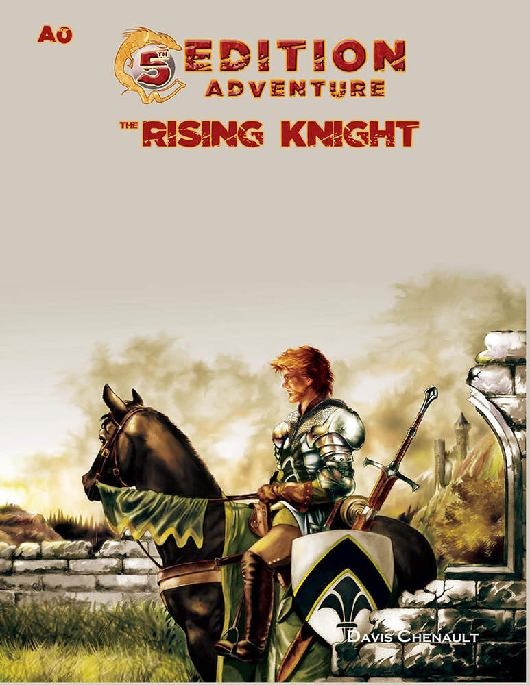 A0 The Rising Knight -  Troll Lord Games