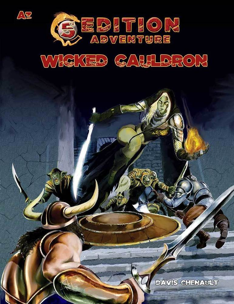 5th Edition A3 Wicked Cauldron Print + Digital Combo