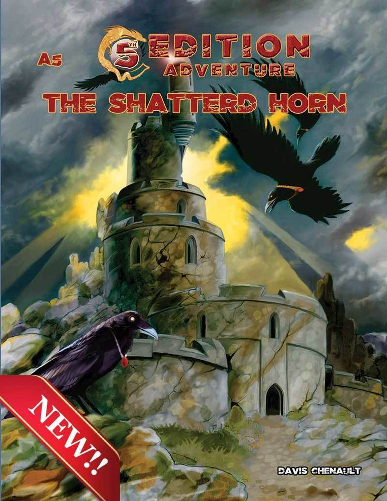 A5: The Shattered Horn: 5th Edition Adventures RPG -  Troll Lord Games