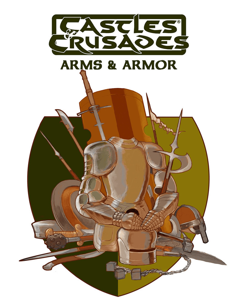 Arms and Armour: Castles and Crusades -  Troll Lord Games