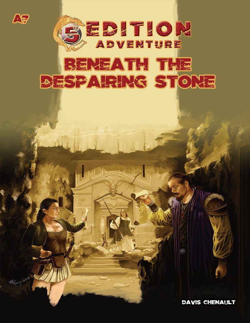 A7 Beneath the Despairing Stone:5th Edition Adventures -  Troll Lord Games