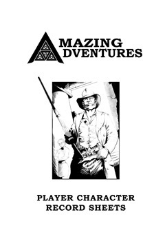 Amazing Adventures Character Reference Sheets