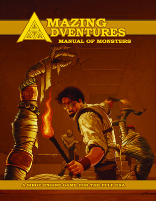 Amazing Adventures Manual of Monsters D