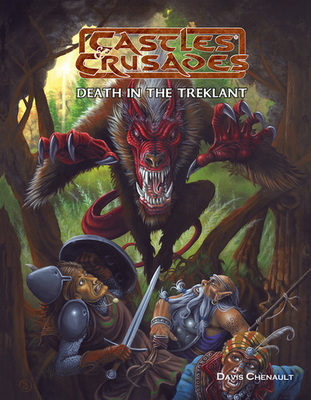 Castles & Crusades D1 Death in the Treklant -- Print