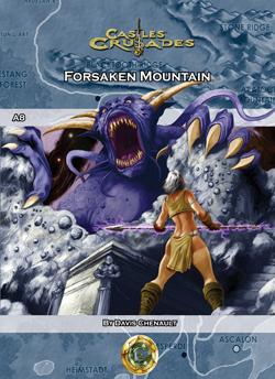 Castles & Crusades A8 Forsaken Mountain