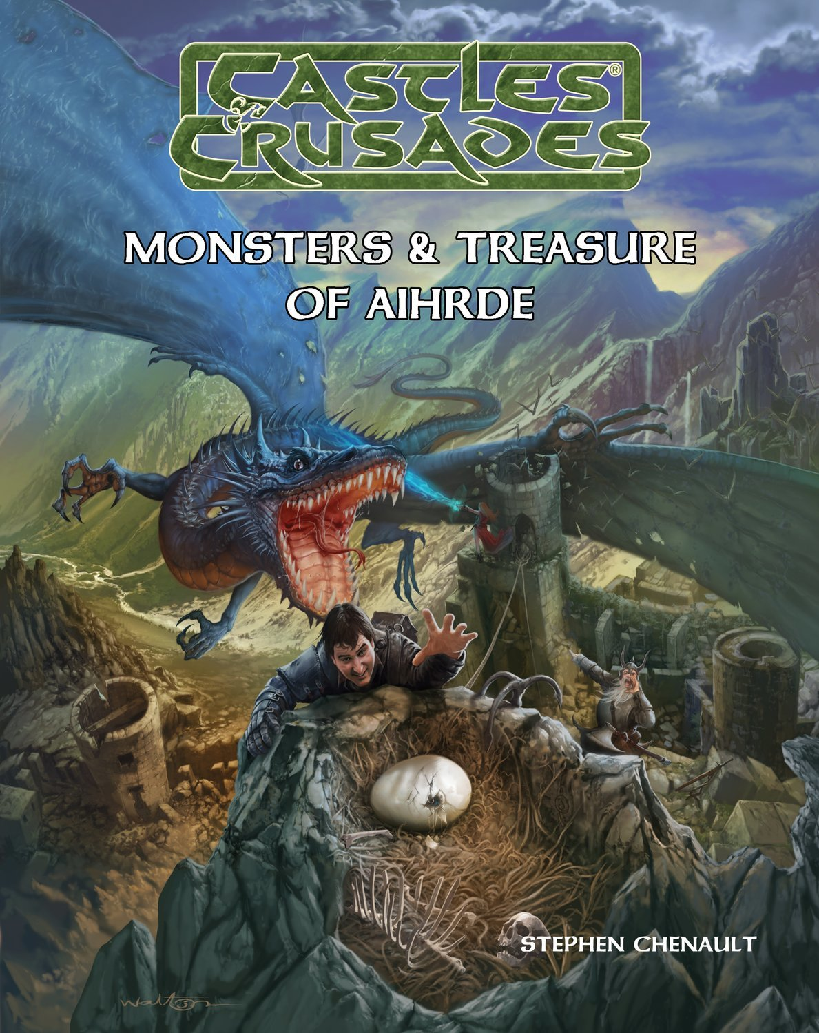 Castles & Crusades Monsters & Treasure of Aihrde Print + Digital