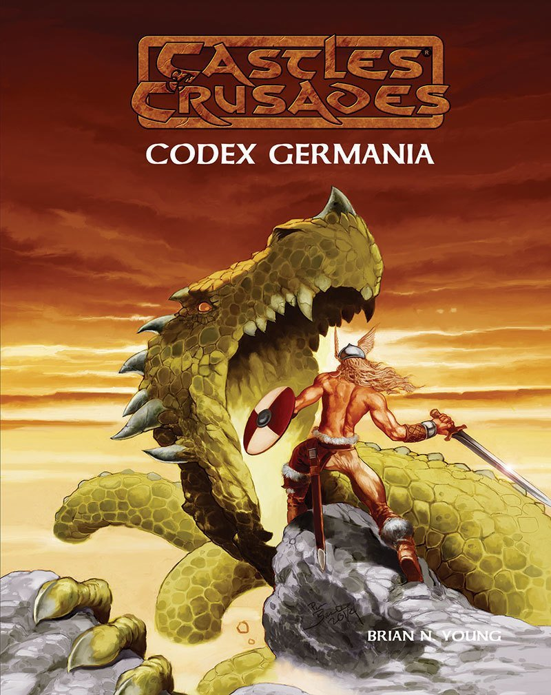 Castles & Crusades Codex Germania -- Print plus Digital