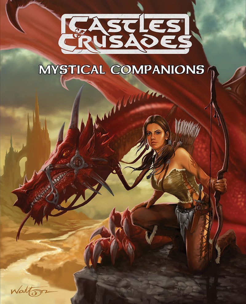 Castles & Crusades Mystical Companions -- Print plus Digital