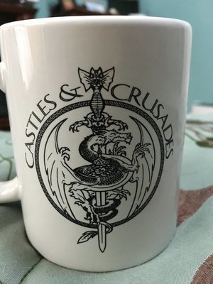 Castles & Crusades Coffee Mug -- The LOGO