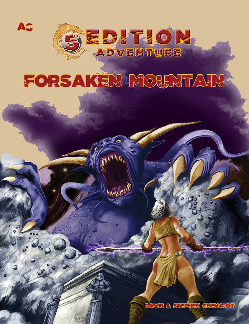 5th Edition A8 Forsaken Mountain Digital