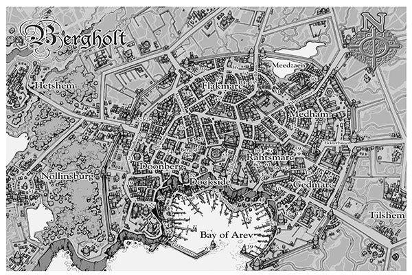 Castles & Crusades By Shadow of Night Map Digital
