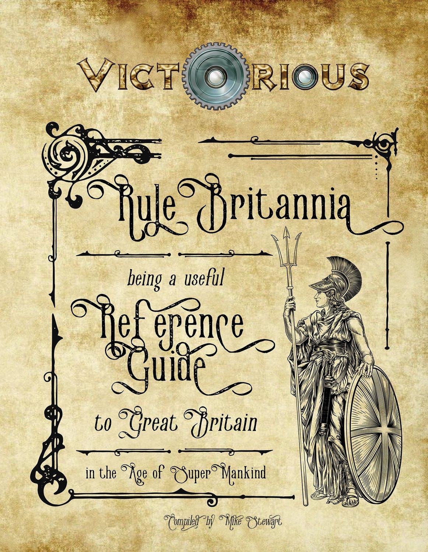Victorious Rule Britania Print + Digital Combo