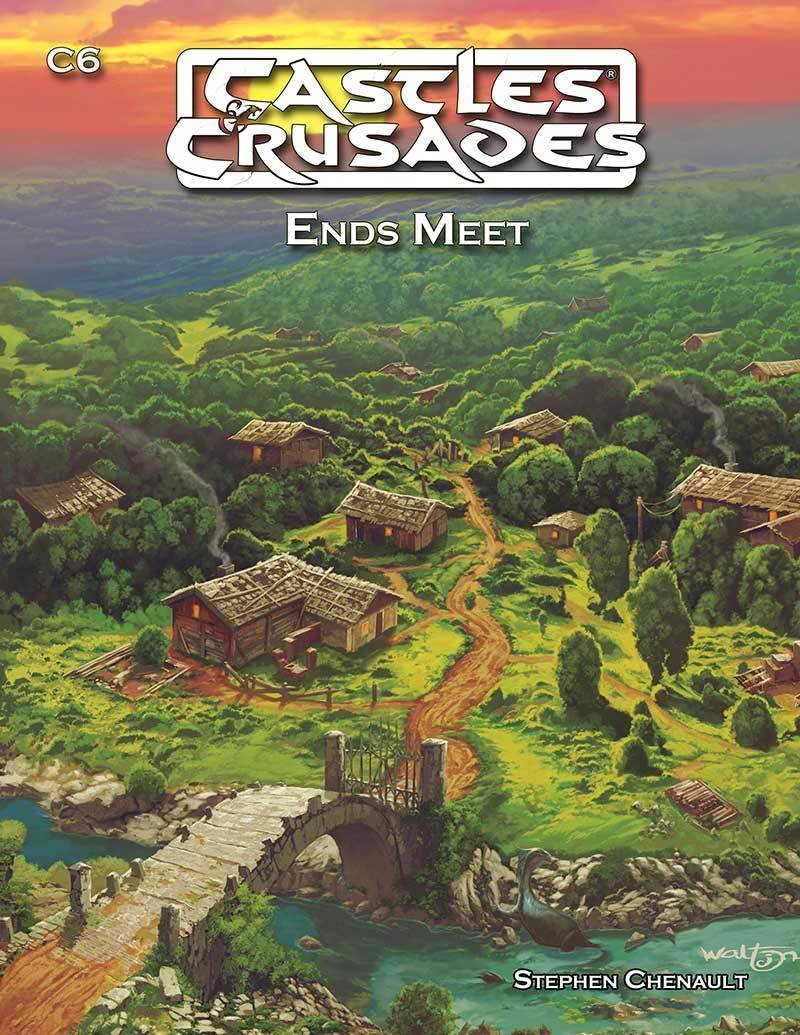 Ends Meet: Castles and Crusades -  Troll Lord Games