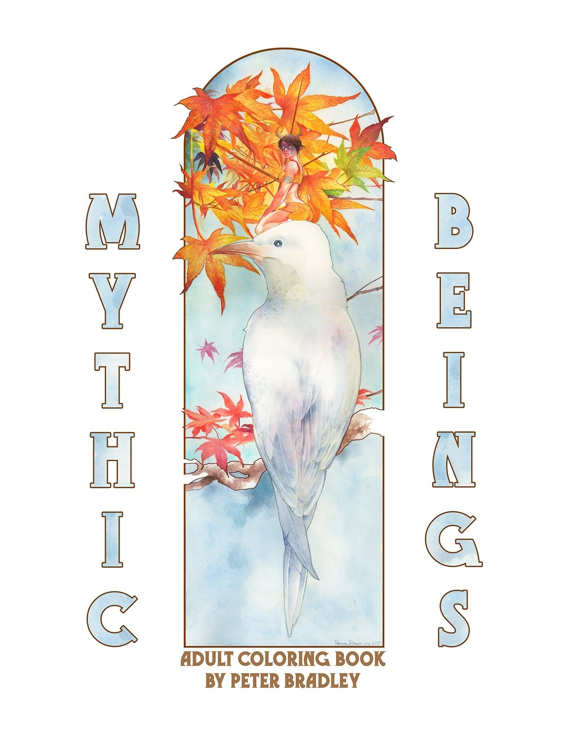 Mythic Beings Coloring Book