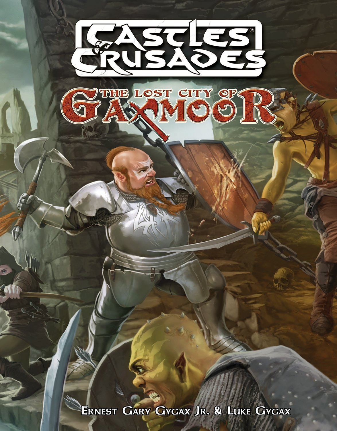 Castles & Crusades Lost City of Gaxmoor Print + Digital Combo