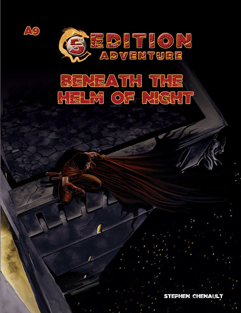 5th Edition A9 Beneath The Helm Of Night Print plus Digital
