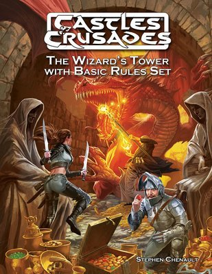 Castles & Crusades The Wizard's Tower with Basic Rules Set -- Digital