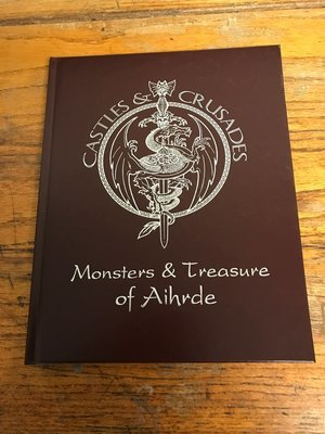 Castles & Crusades Monsters & Treasure of Aihrde -- Leather Edition