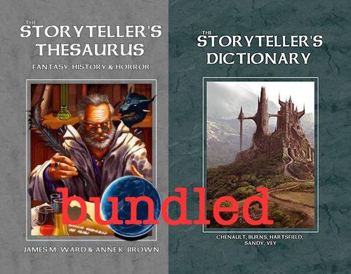 Bundle -- Storyteller's Thesaurus and Dictionary -- Print