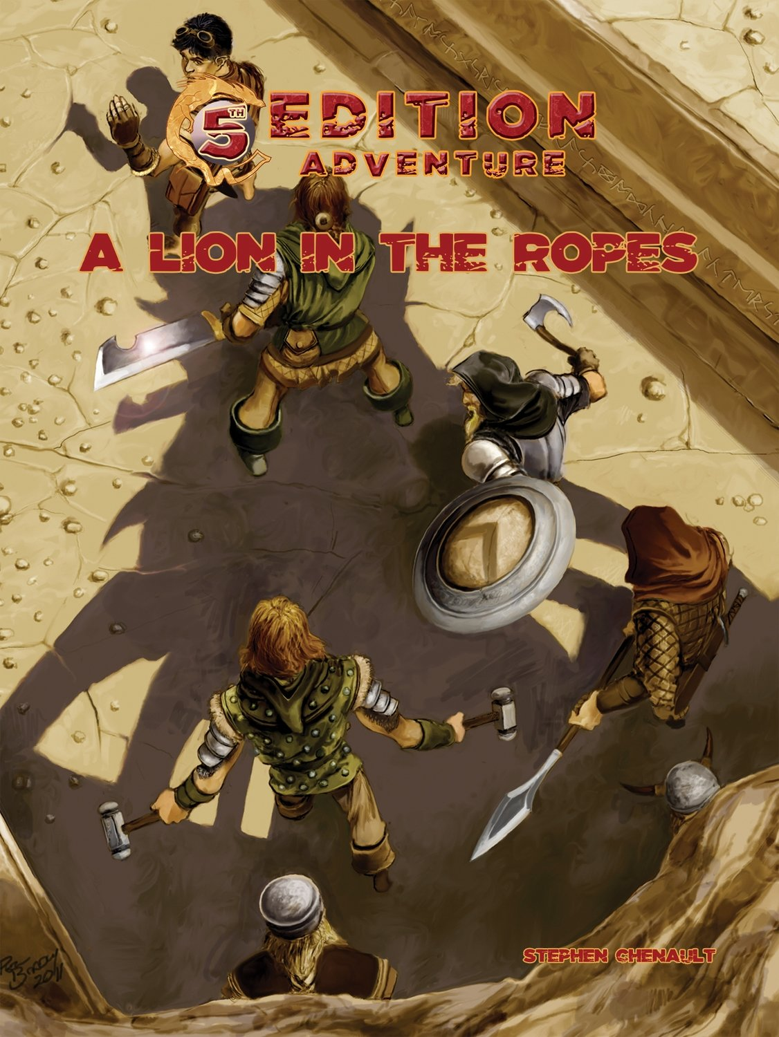 5th Edition A Lion in the Ropes -- Print + Digital