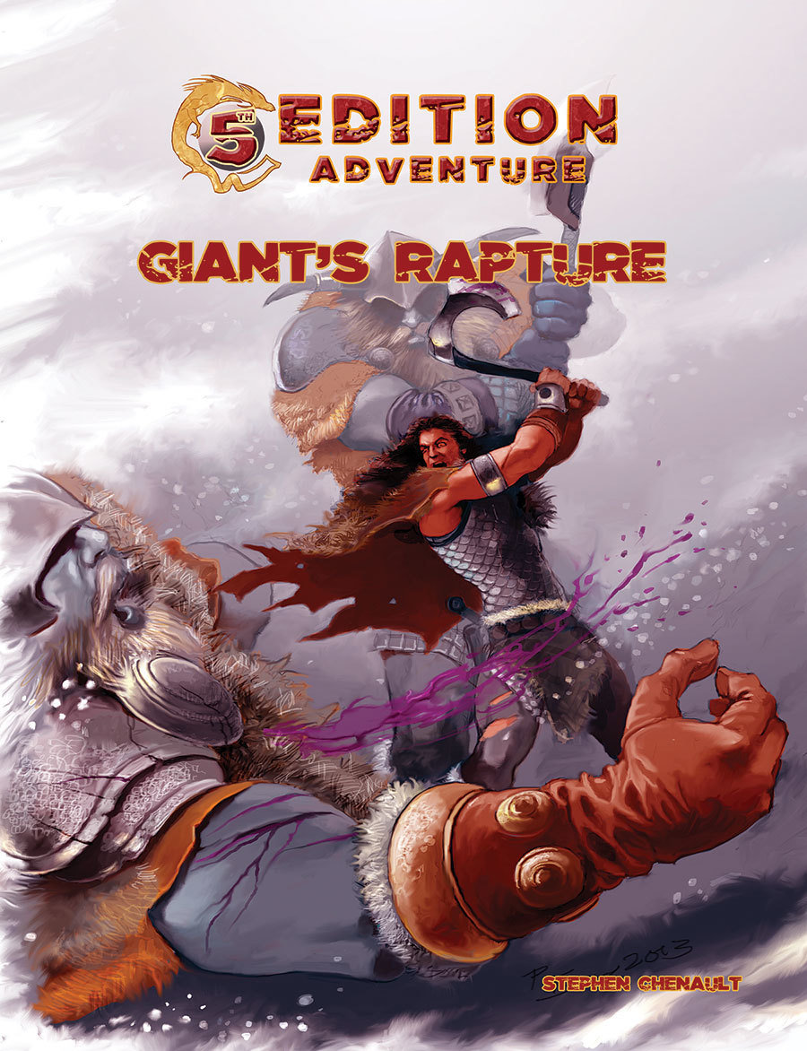 5th Edition: Giant's Rapture -- Print plus Digital