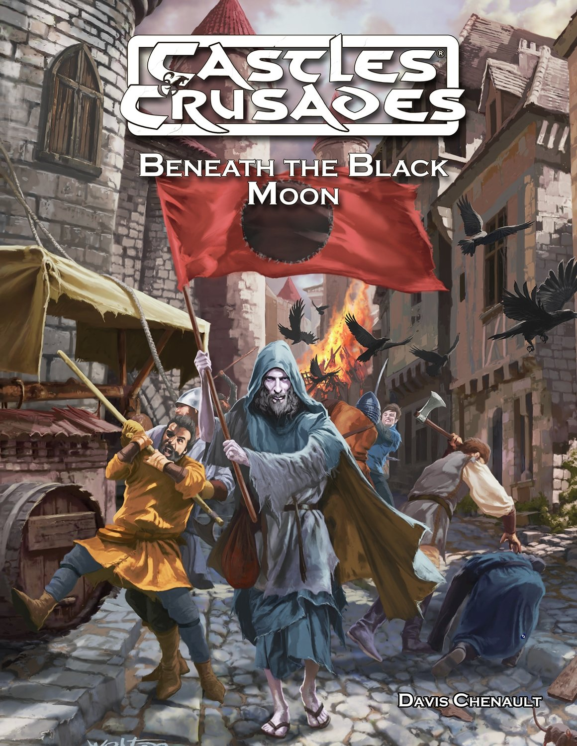Castles & Crusades D3 Beneath the Black Moon -- Digital