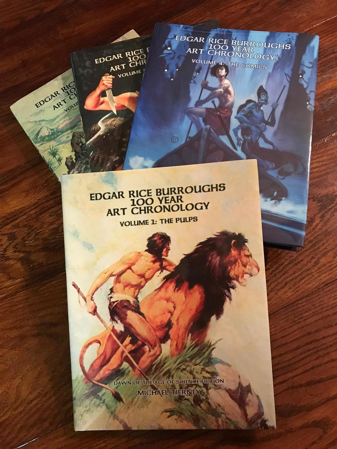 Edgar Rice Burroughs 100 Year Art Chronology