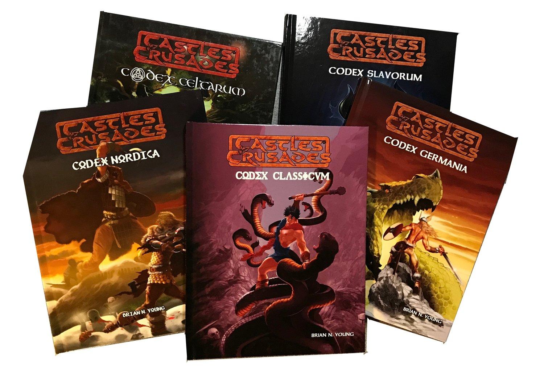 Castles & Crusades Mythos Series -- Print & Digital