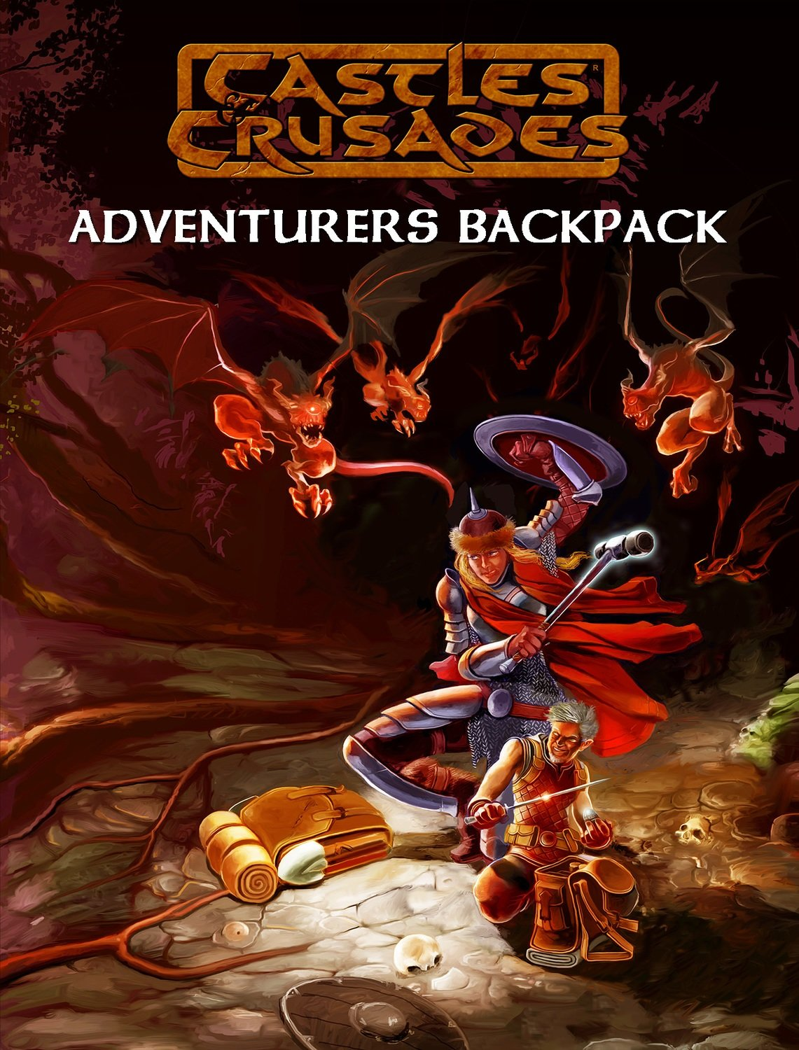 Castles & Crusades Adventurers Backpack Print & Digital