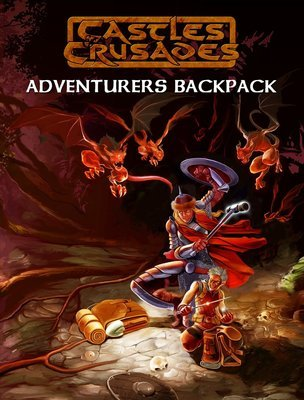 Castles & Crusades Adventurers Backpack