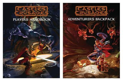 Castles & Crusades Player Books Combo