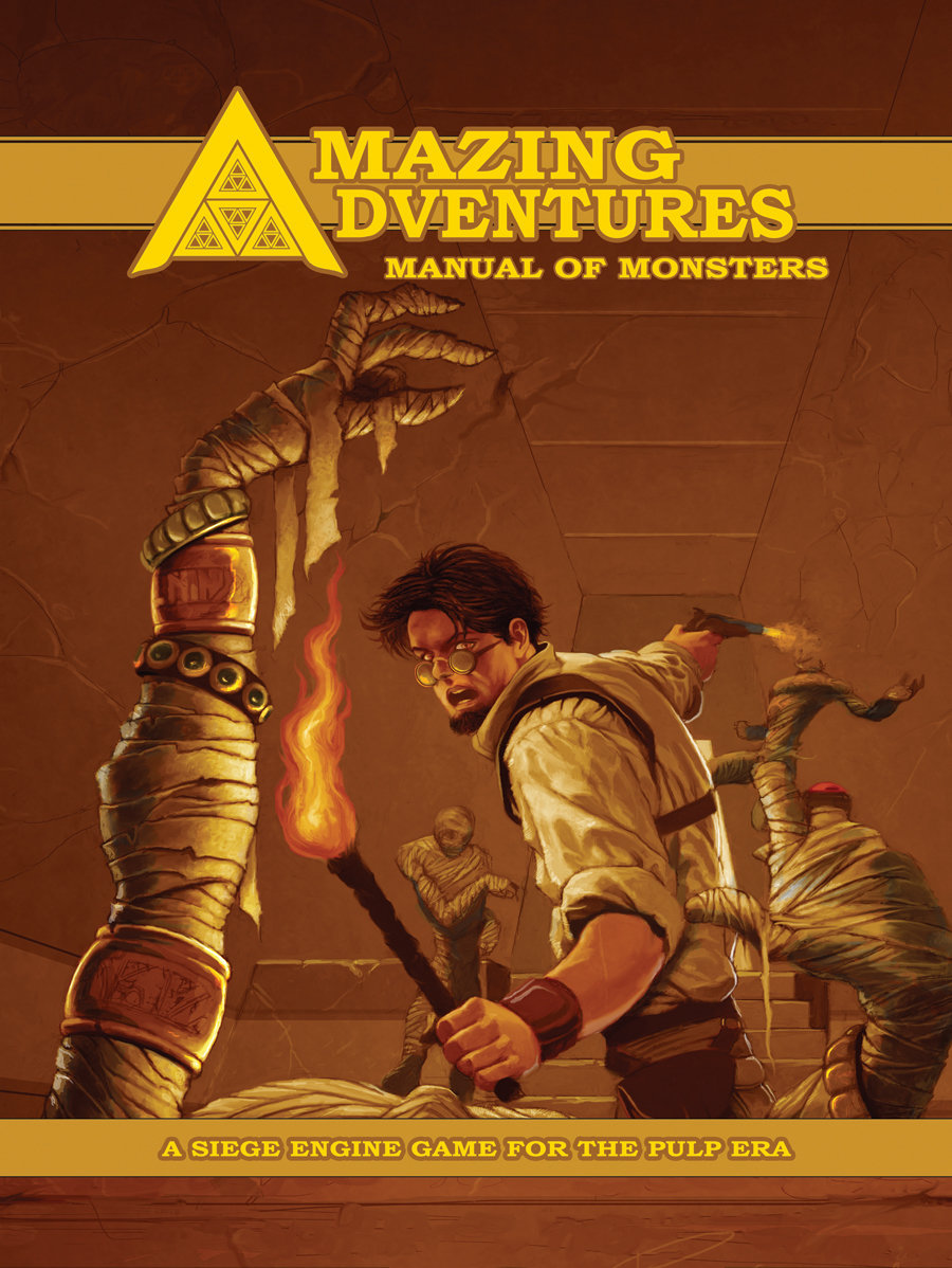 Amazing Adventures Manual of Monsters PD