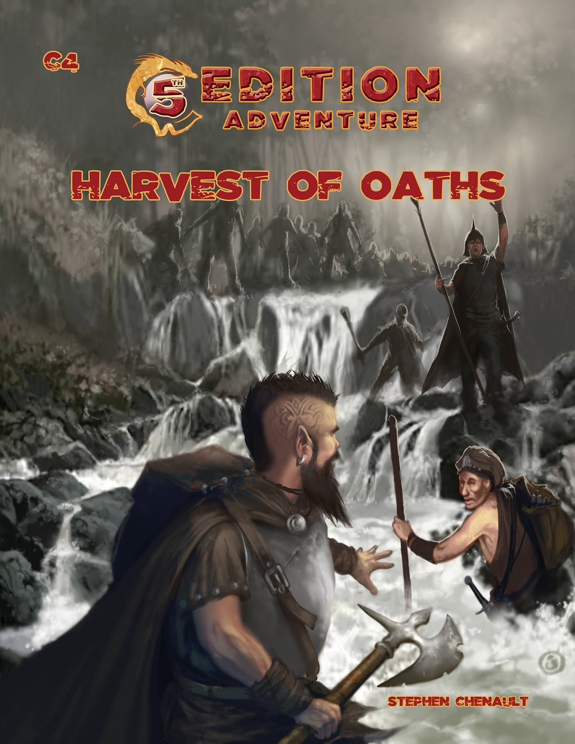 5th Edition Adventures: C4 Harvest of Oaths -- Print & Digital