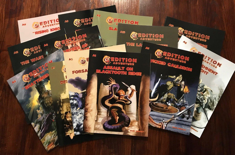 5th Edition Adventure Bundle A0 - A12