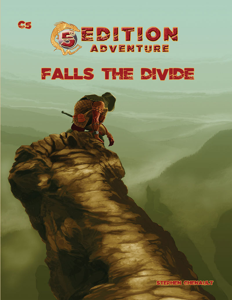 5th Edition: C5 Falls The Divide -- Print plus Digital
