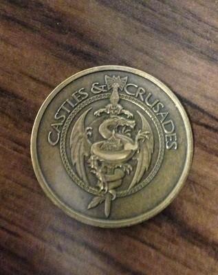 Castles & Crusades Coin