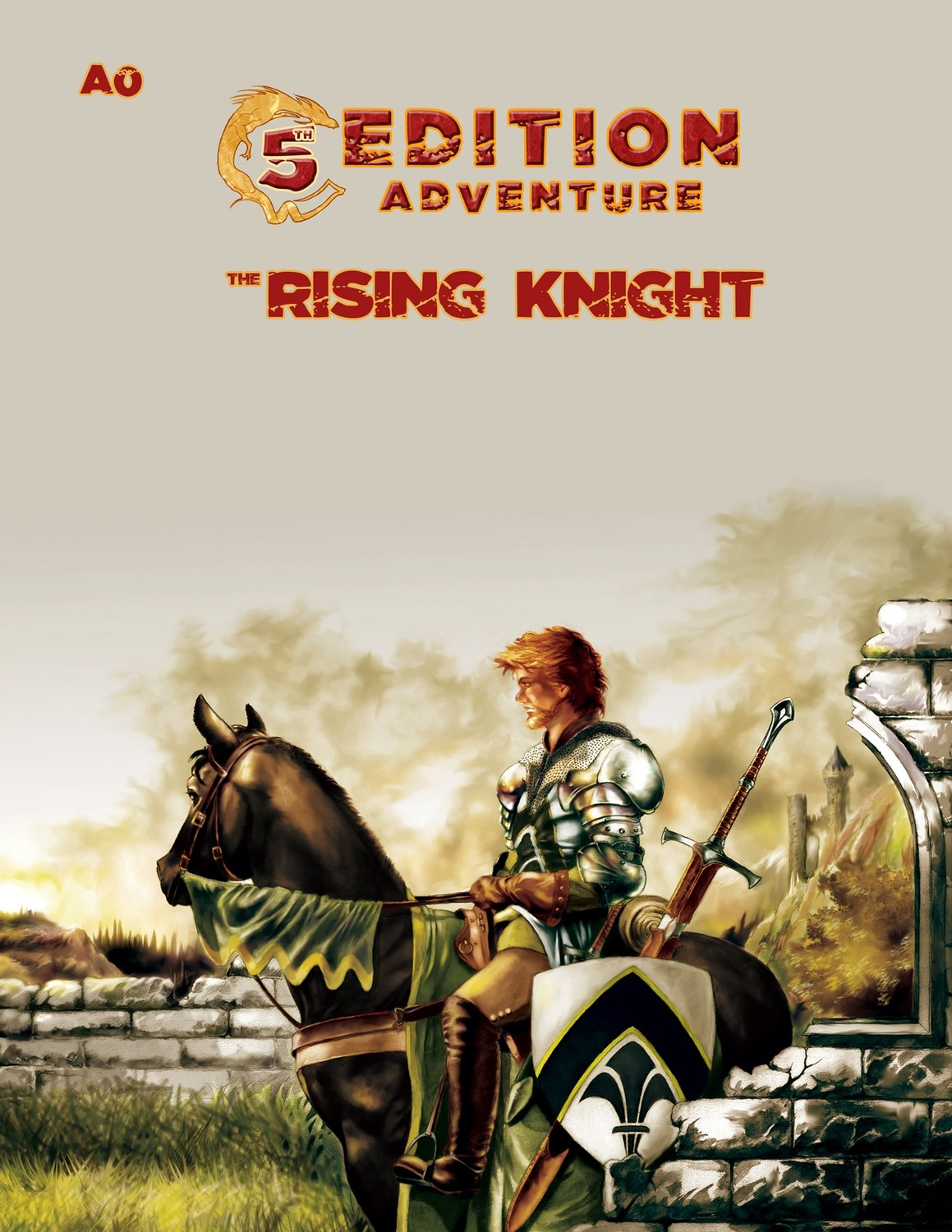 5th Edition: A0 The Rising Knight -- Print + Digital Combo