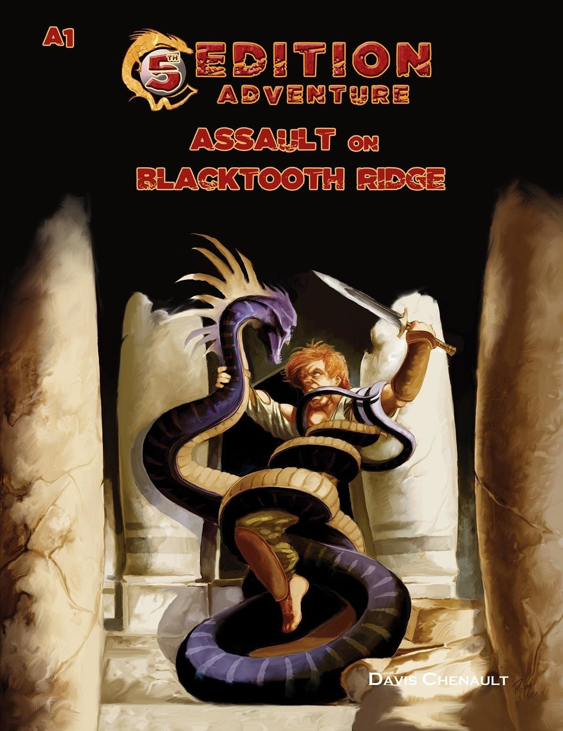 5th Edition A1 Assault on Blacktooth Ridge -- Digital
