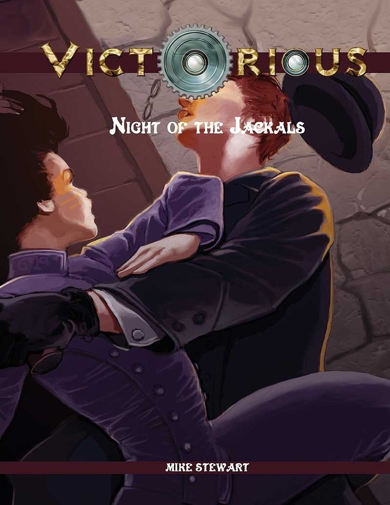 Victorious V1 Night of the Jackals Print + Digital Combo