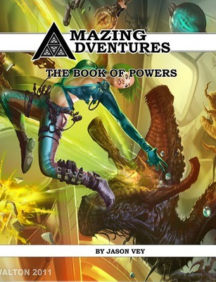 Amazing Adventures Book of Powers Digital