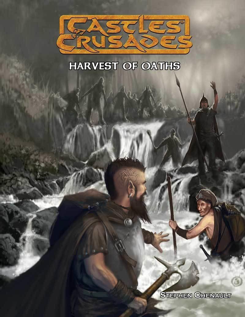 Castles & Crusades C4 Harvest of Oaths Print