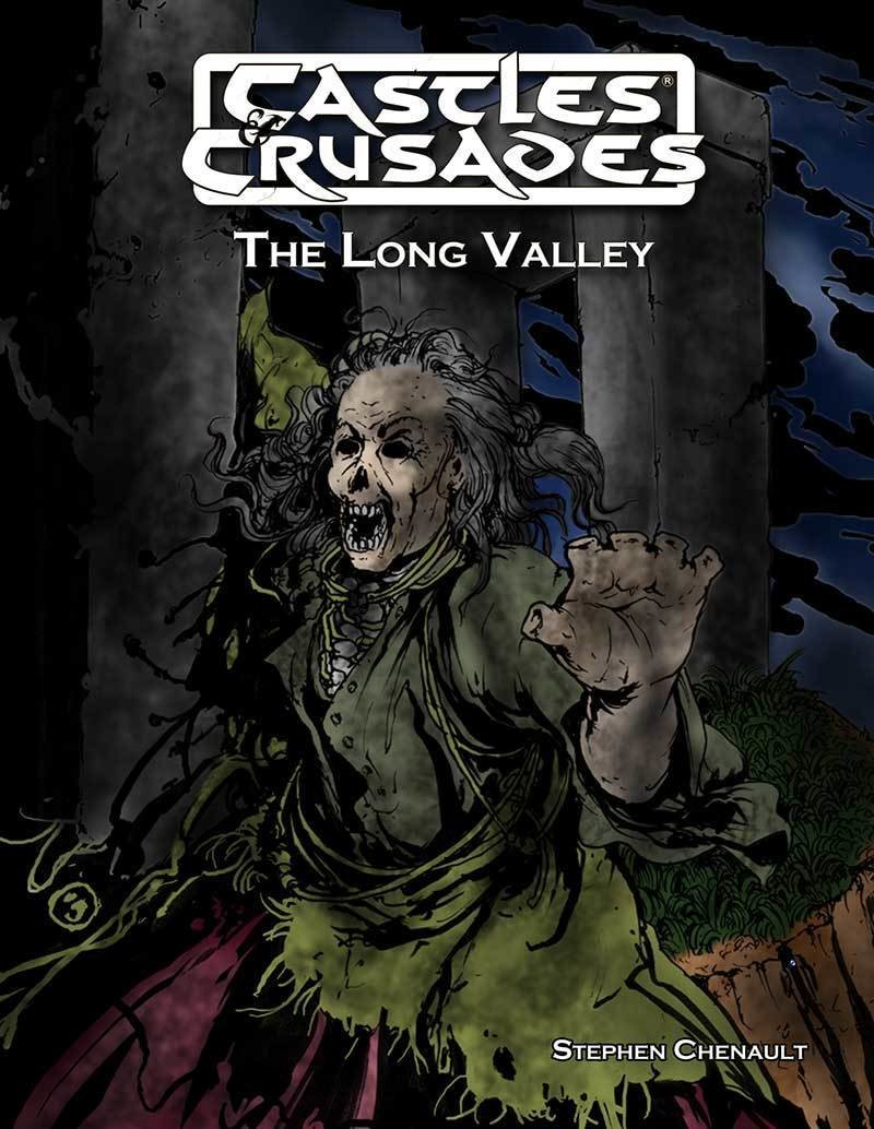 Castles & Crusades The Long Valley (Tie in to Gaxmoor)